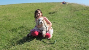 Me and my dog...  July 2012